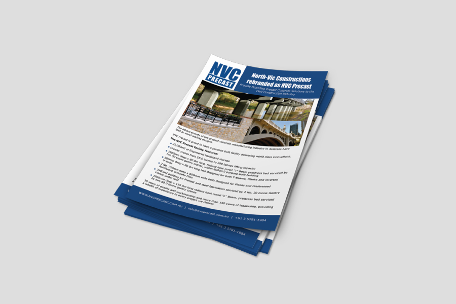 NVC Precast Advertisement – Content Creation & Design