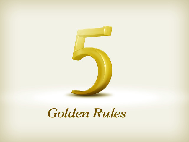 How to talk to customers using 5 Golden Rules
