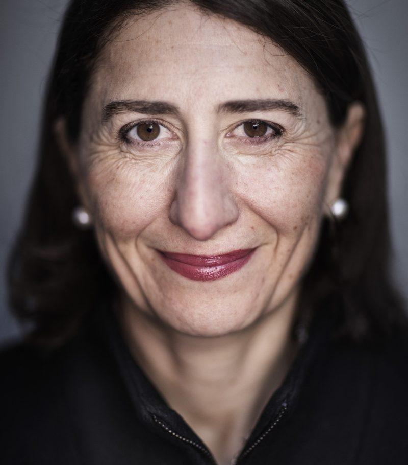 Gladys Berejiklian Premier of NSW 16/05/2017 Martin Place
